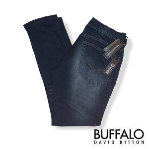 Buffalo David Bitton Men's Max-X Skinny Fit Denim